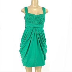 New BCBGMaxazria emerald mini Cocktail Dress